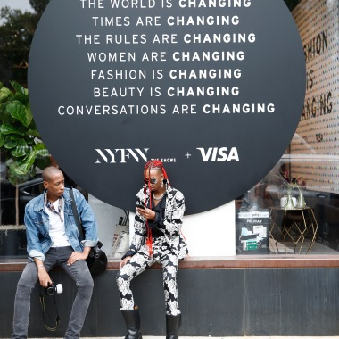 NEW YORK, NY - SEPTEMBER 07: Guests attend Visa Taps Into Fashion At New York Fashion Week: The Shows - Day 2 at Spring Studios on September 7, 2018 in New York City. (Photo by Brian Ach/Getty Images for Visa)
