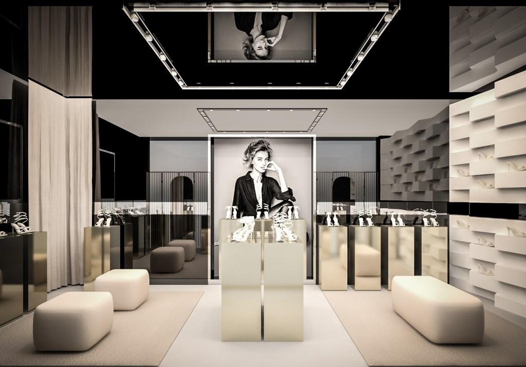 René Caovilla store in Las Vegas
