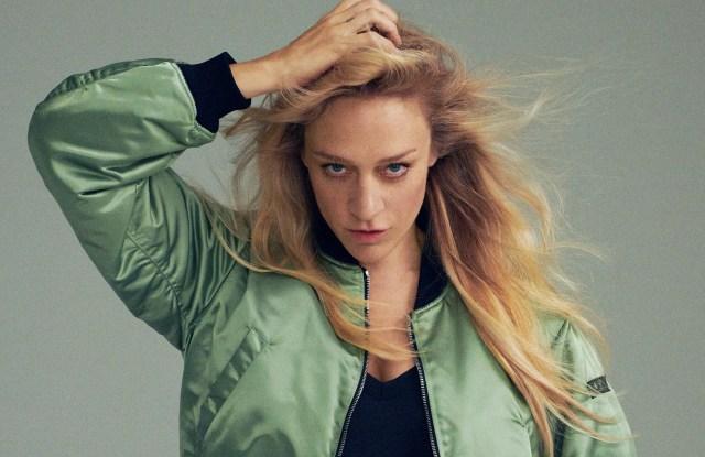 Chloë Sevigny in an ad for Tatras.