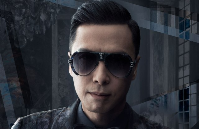 Donnie Yen in a pair of his own designs.