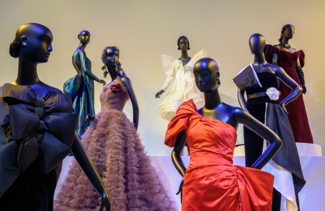 """Fabulous Fashion: From Dior's New Look to Now"" is on view through March 3 at the Philadelphia Museum of Art."
