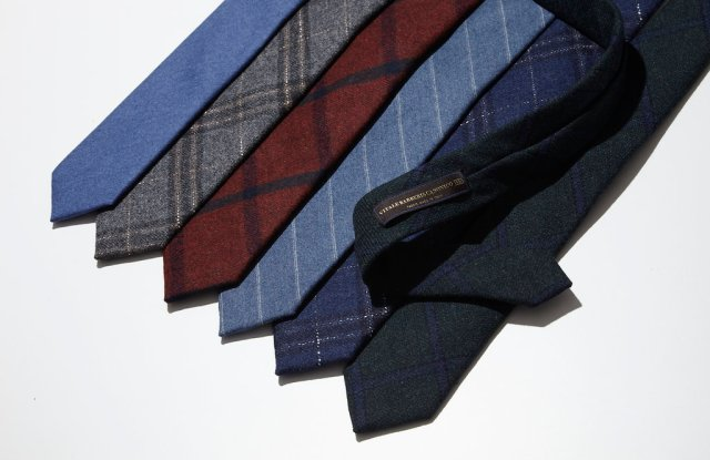 The Tie Bar capsule collection with Vitale Barberis