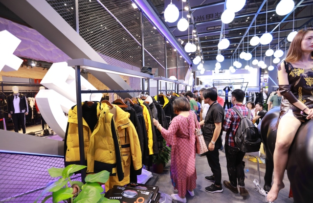 At Chic Shanghai, Chinese brands focused increasingly on quality over quantity and more on the domestic market.
