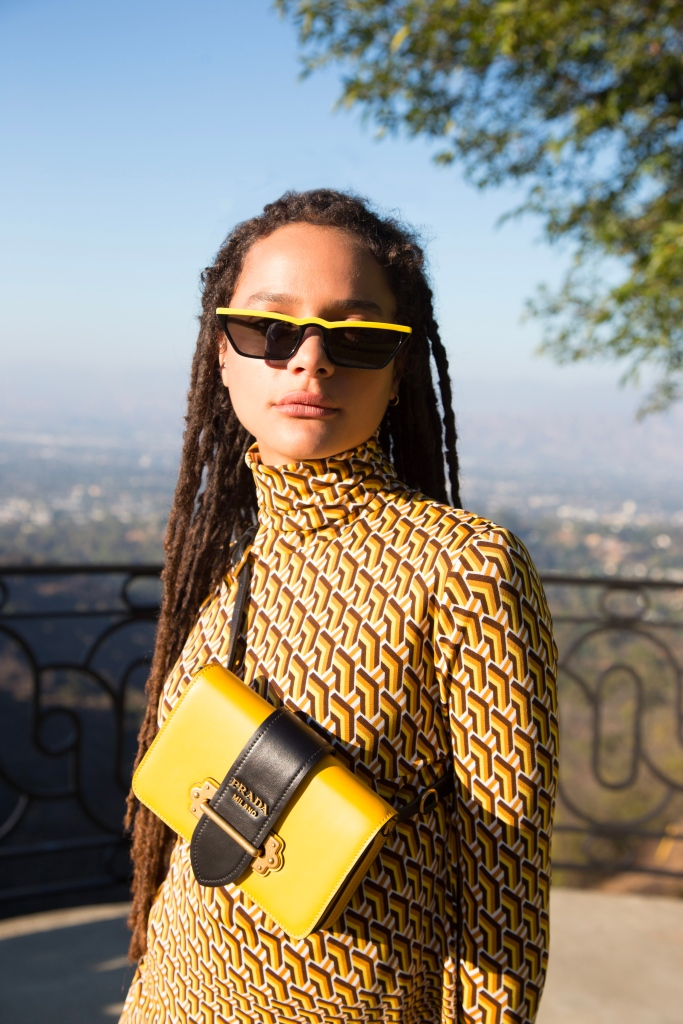 """Sasha Lane will star in the second episode of Prada's """"The Delivery Man"""" series."""