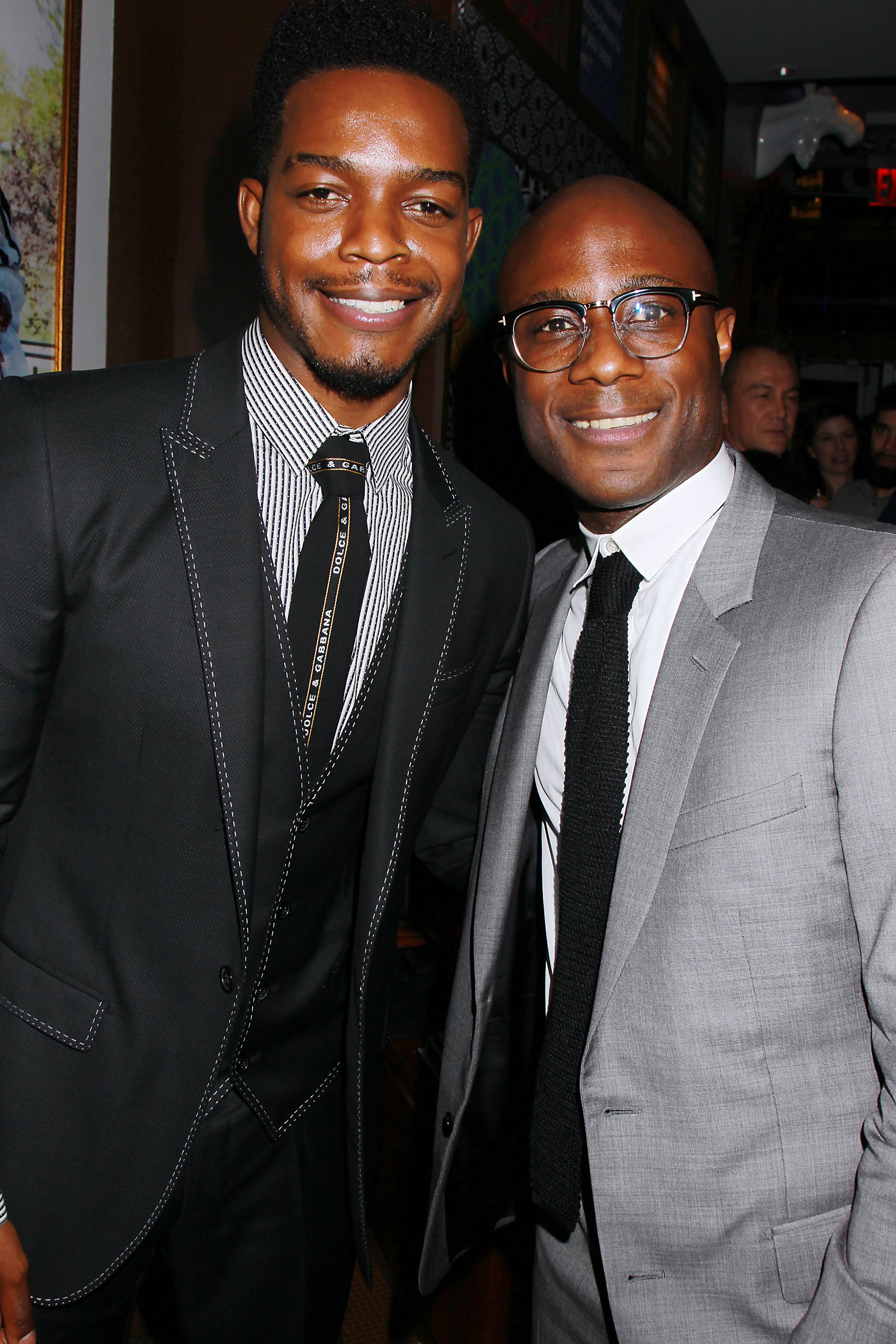 Stephan James and Barry Jenkins