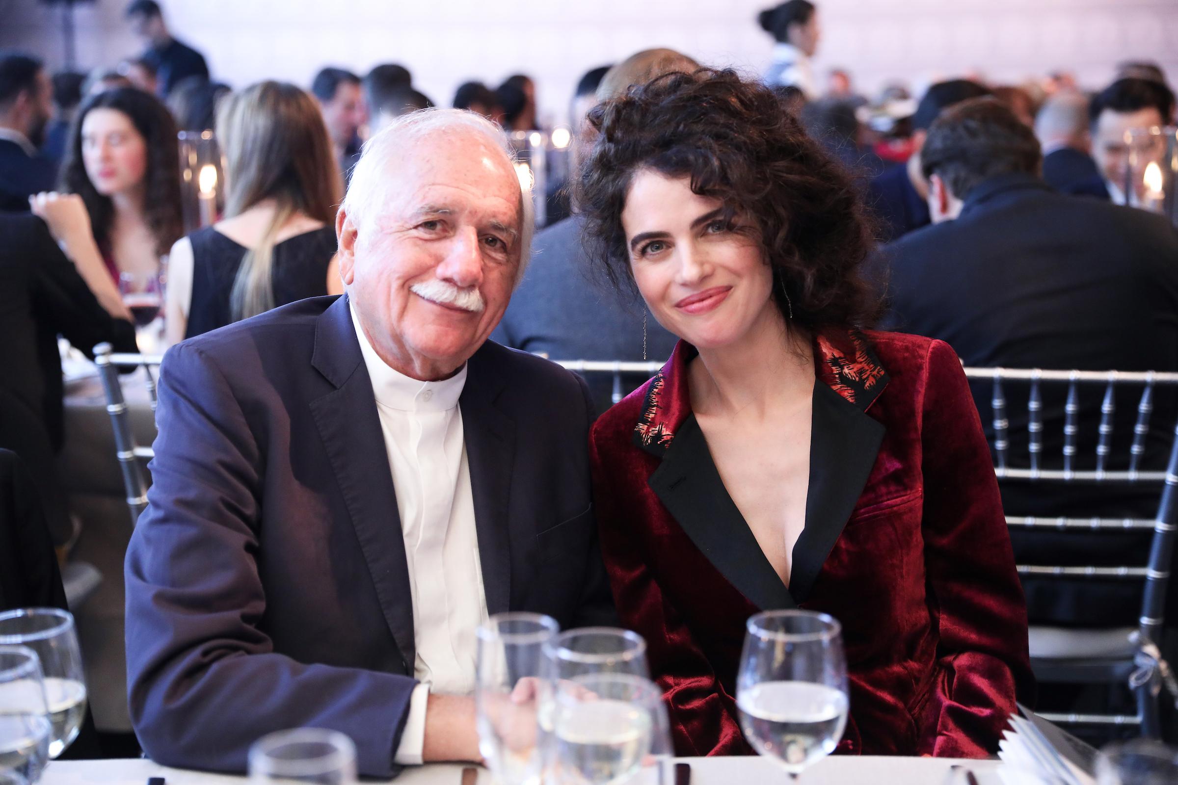 Moshe Sadfie and Neri Oxman. Photo: Samantha Nandez/BFA.com