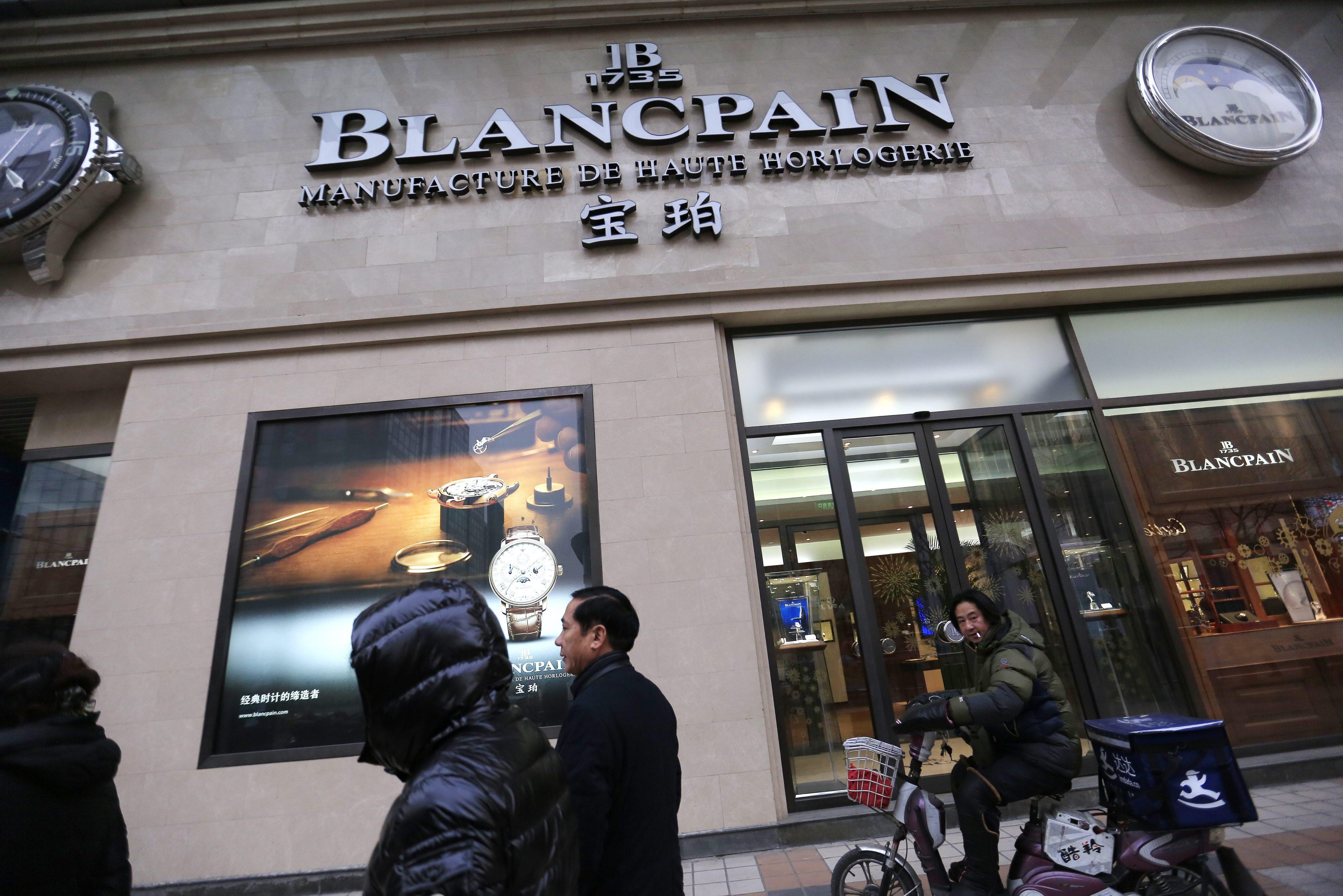 Blancpain store in Beijing