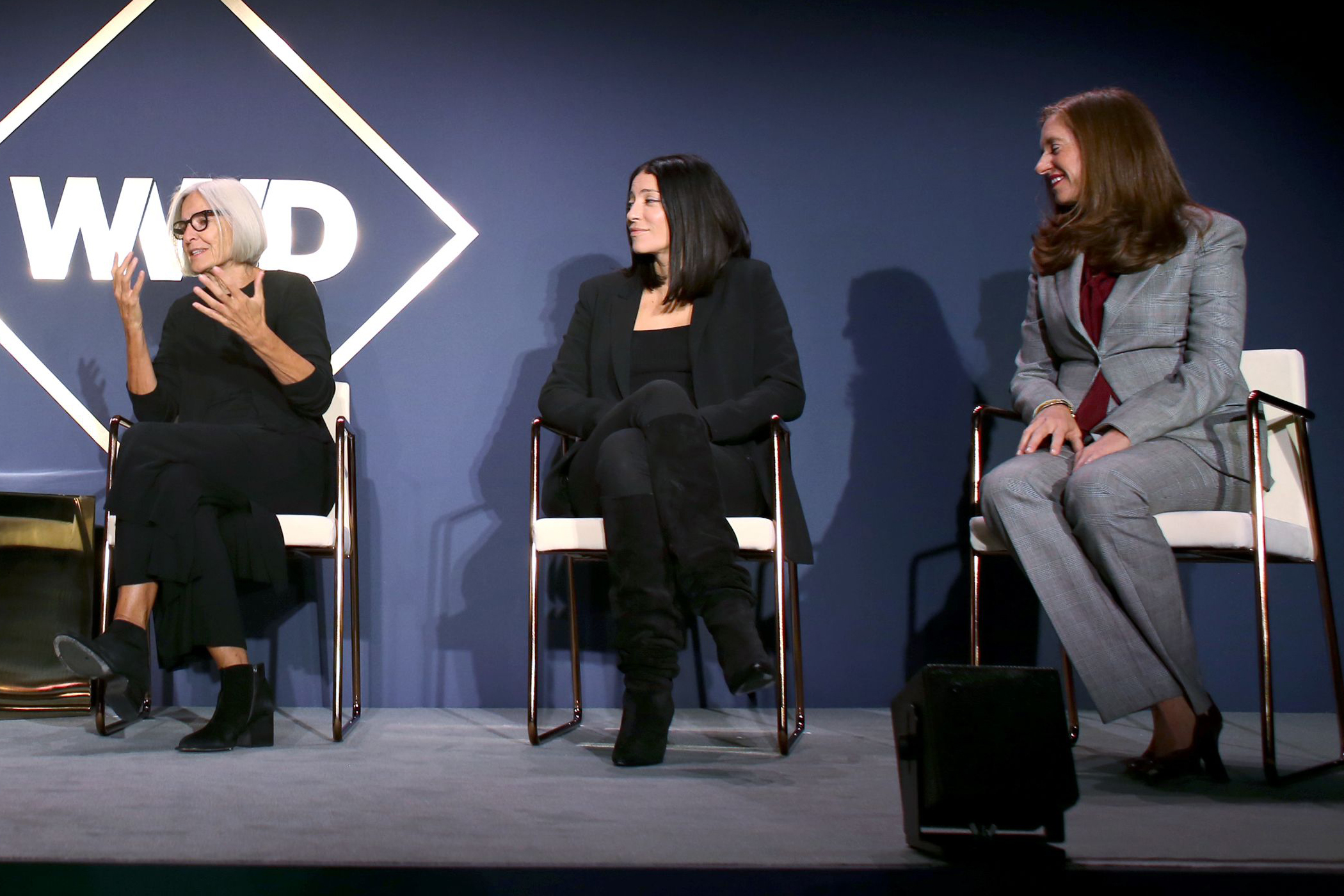 Yael Aflalo, Cara Smyth and Eileen Fisher