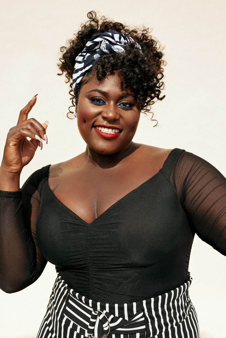 Danielle Brooks featured in looks selected from her collaboration with FTF