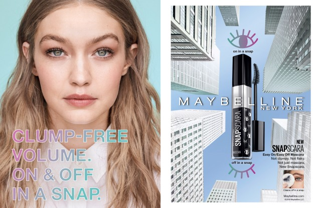 An ad for Maybelline Snapscara