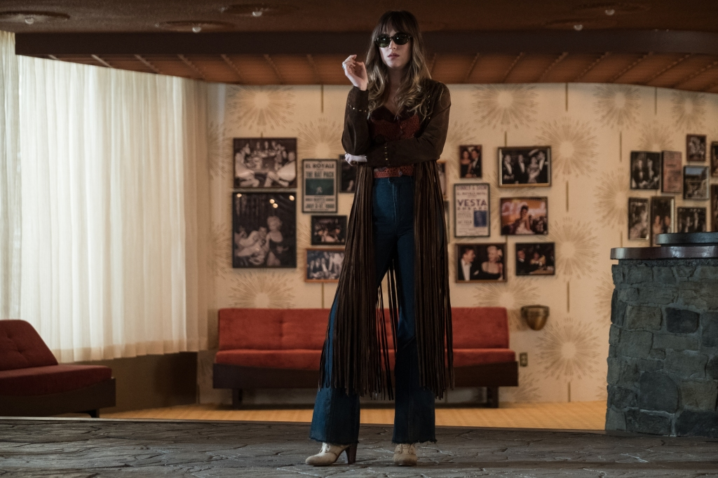 "Dakota Johnson in ""Bad Times at the El Royale."""
