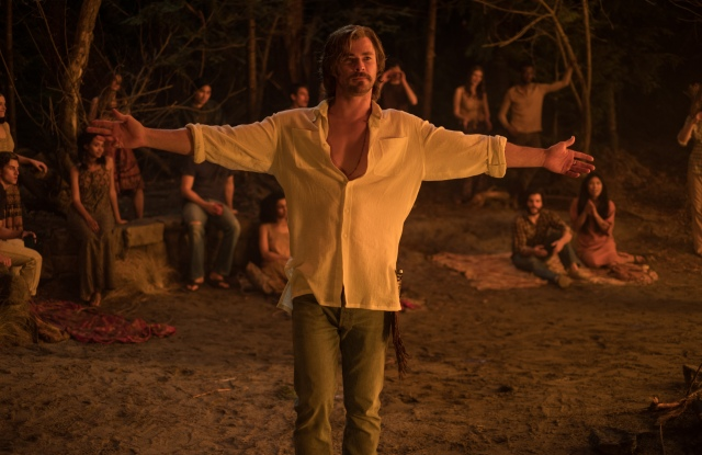 "Chris Hemsworth in ""Bad Times at the El Royale."""