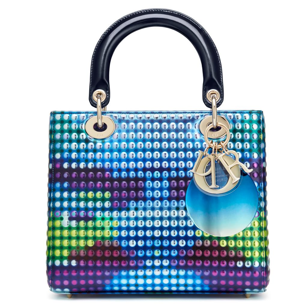 Dior Lady art bag designed by Li Shurui