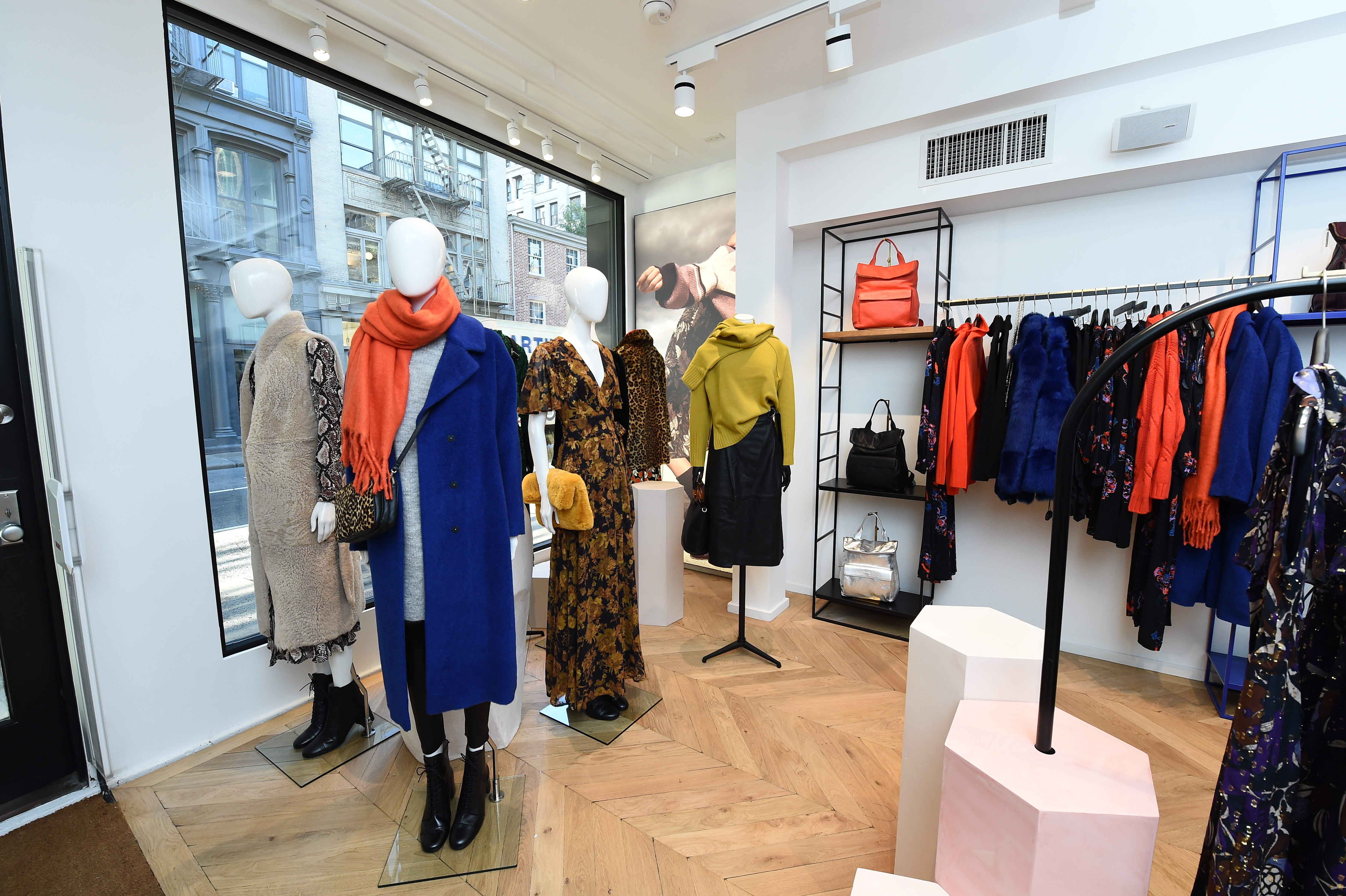 The new Whistles store in SoHo in New York.
