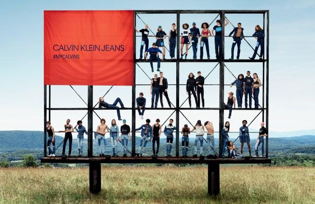 A Calvin Klein Jeans Ad.