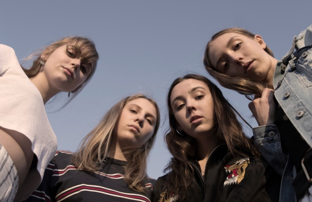 Erthlings band members (L to R)  Issy Lowe, Lissa Evans, Taylor Shutes and Jessame Stepto.