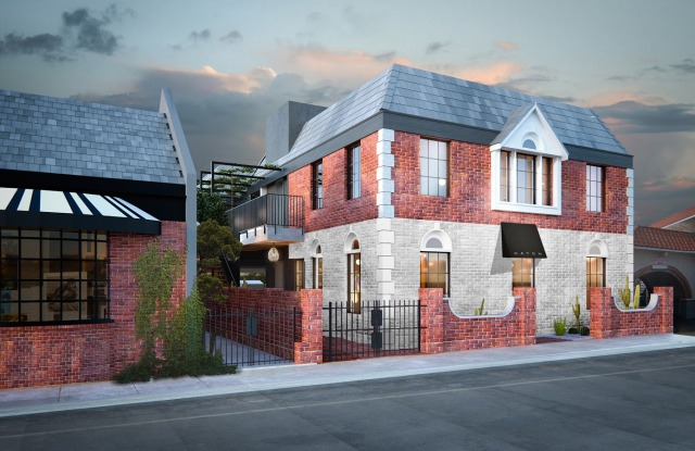 A rendering of Hatch's new boutique in the Brentwood neighborhood of Los Angeles