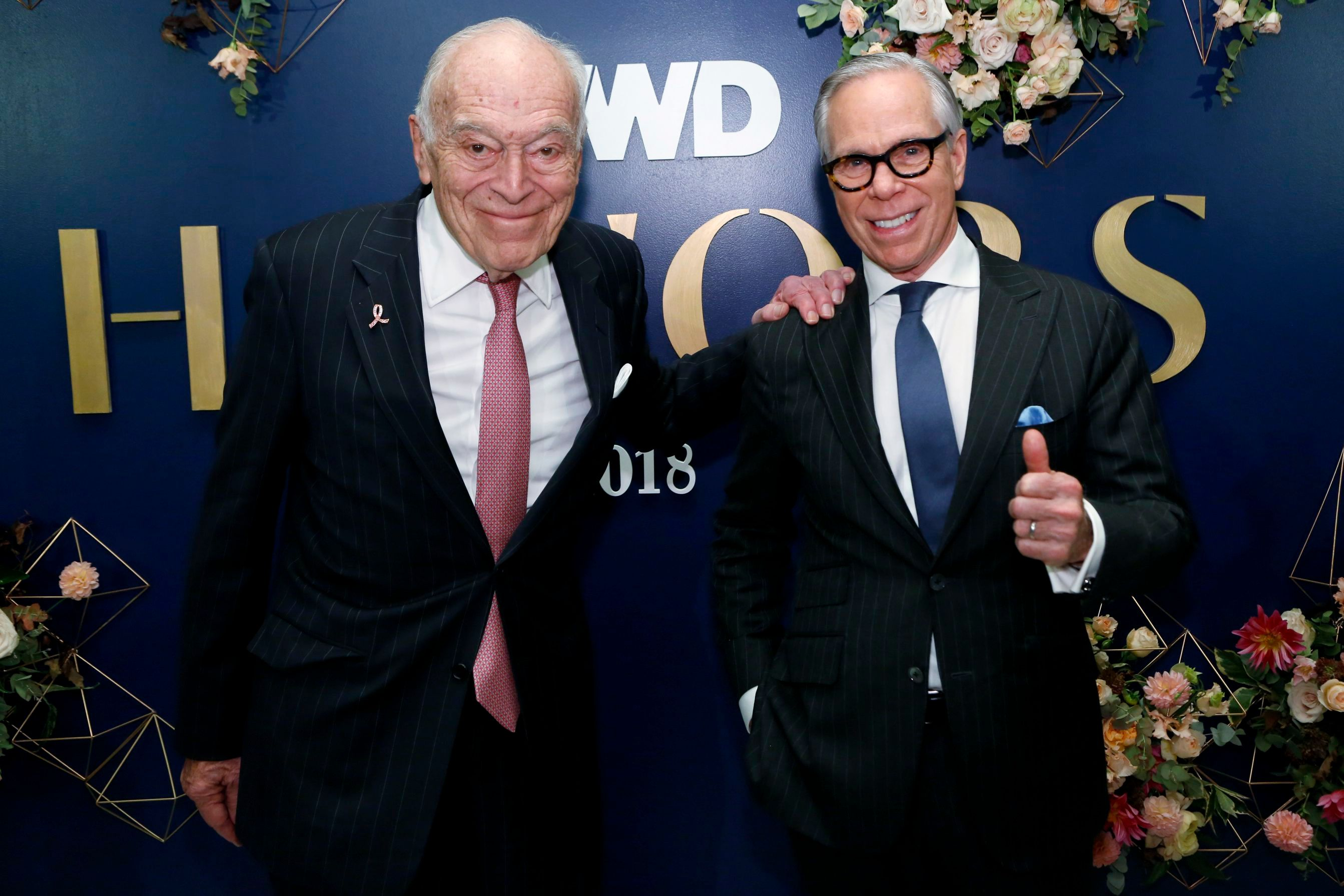 Leonard Lauder and Tommy Hilfiger3rd Annual WWD Honors, Arrivals, New York, USA - 30 Oct 2018