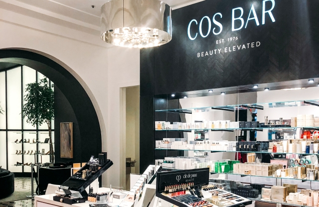 Cos Bar has opened its first-ever shop-in-shop in Banana Republic's San Francisco flagship.