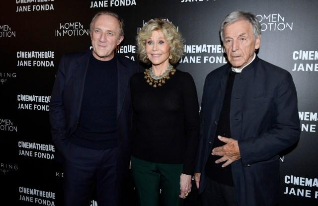 François Henri Pinault, Jane Fonda, Costa Gavras