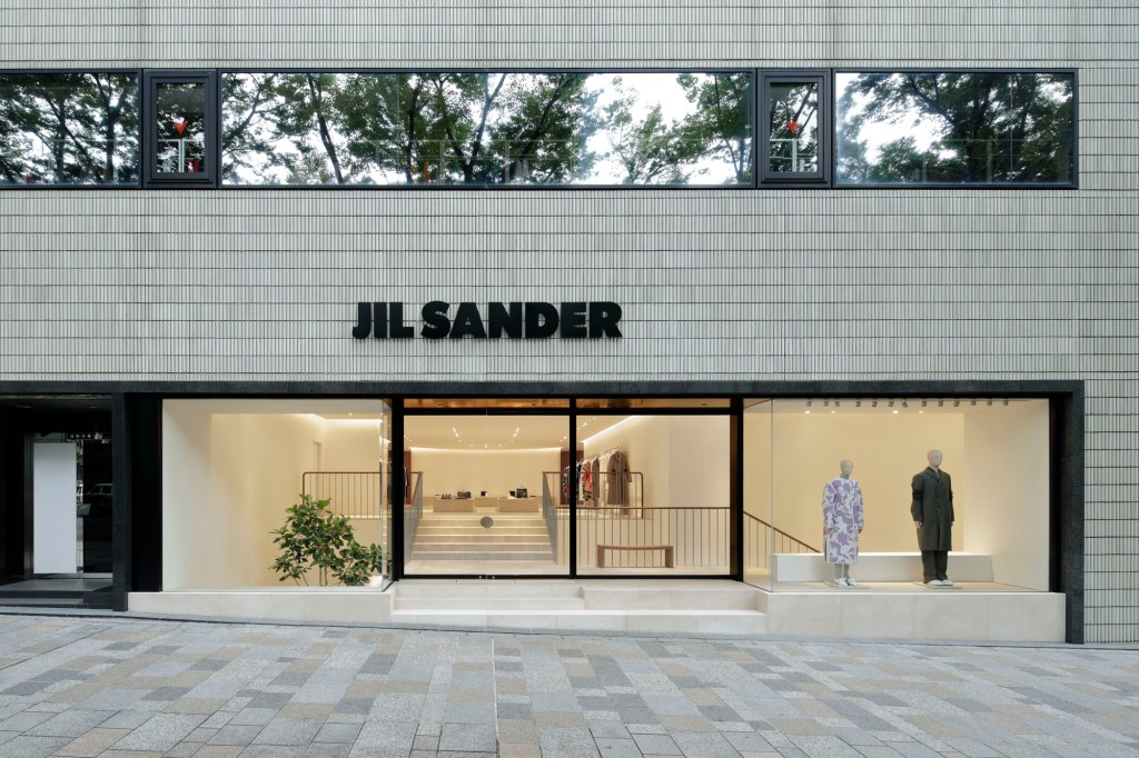 The new Jil Sander flagship in Tokyo