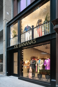 The Joe Bananas store is in a space that has never housed a retail store.