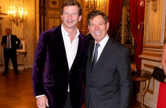 Lorenz Bäumer and Peter Price