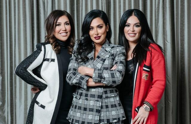 Alya, Huda, and Mona Kattan.
