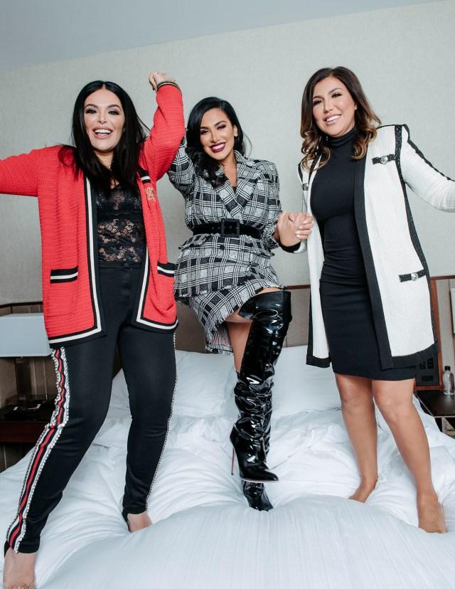 Mona, Huda and Alya Kattan.