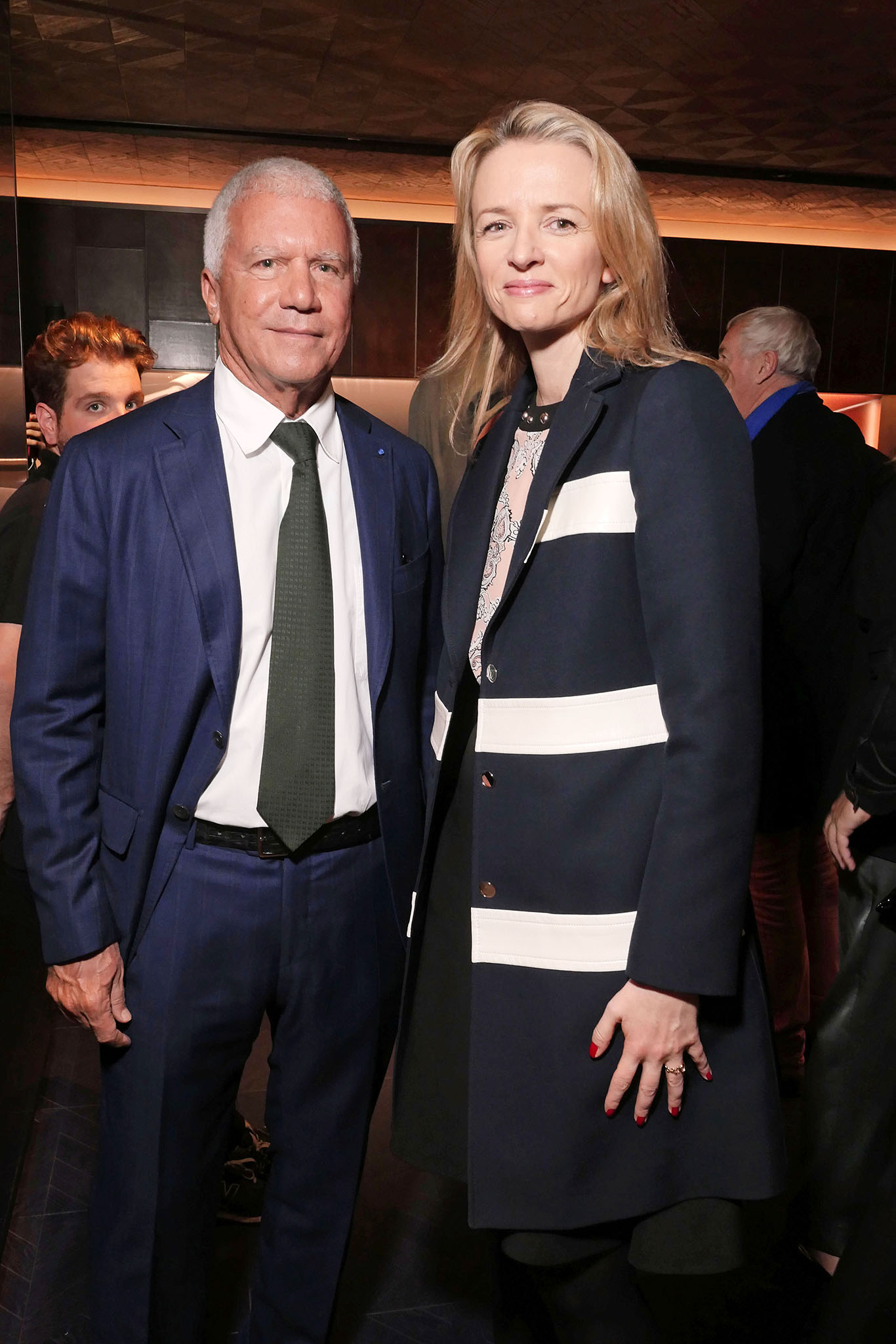 Larry Gagosian and Delphine Arnault