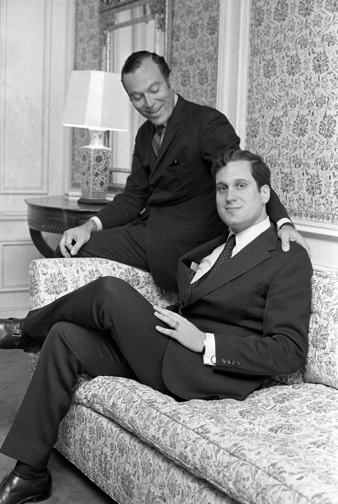 Leonard and Ronald Lauder