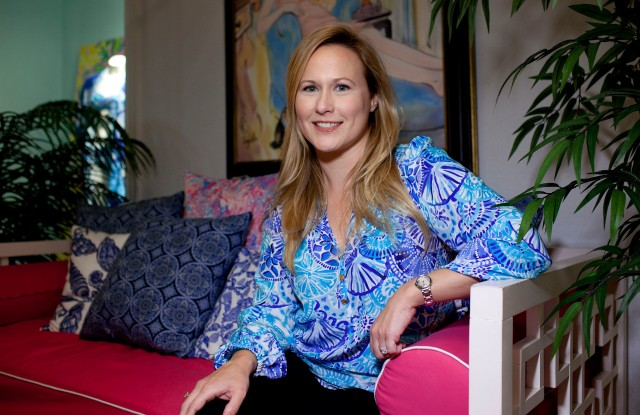 Michelle Kelly of Lilly Pulitzer