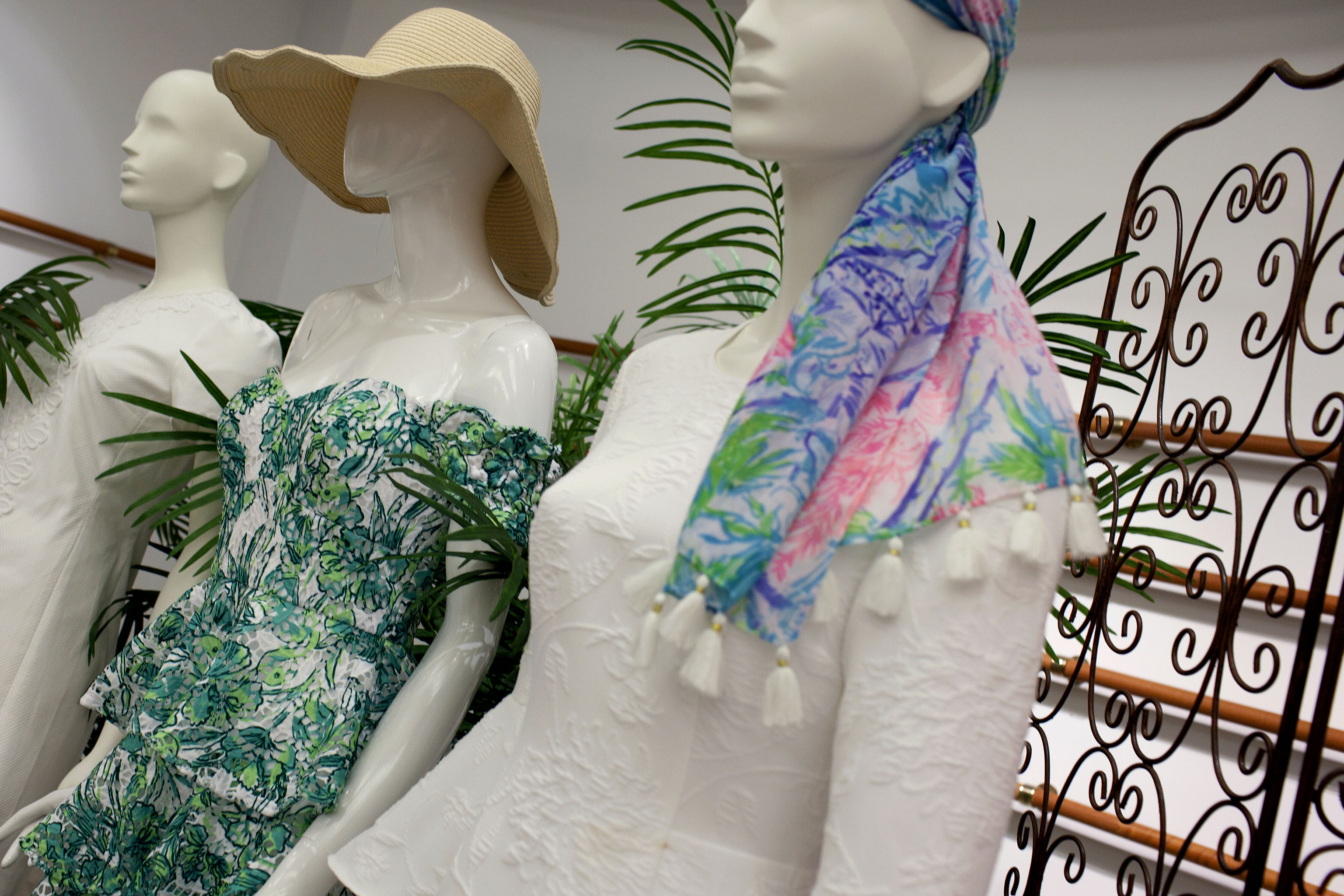 Looks from Lilly Pulitzer.Michelle Kelly of Lilly Pulitzer