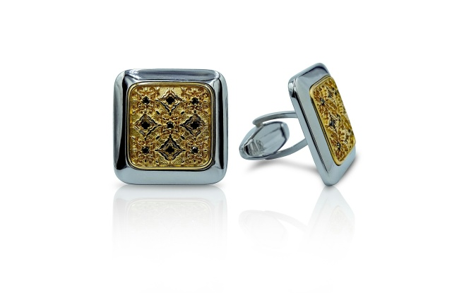 """Cufflinks from the Luca Jouel """" Idol Collection"""""""