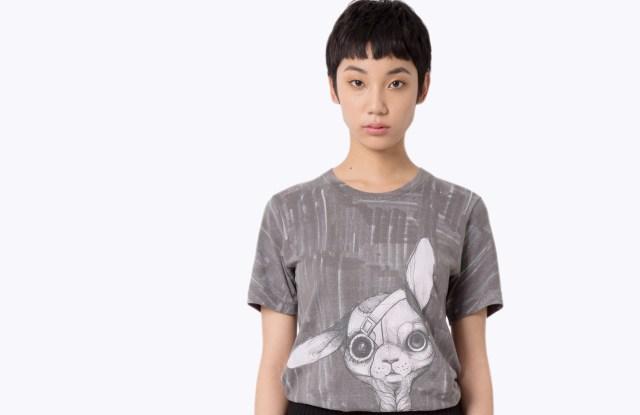 A T-shirt design by Lauren Tsai for Marc Jacobs.