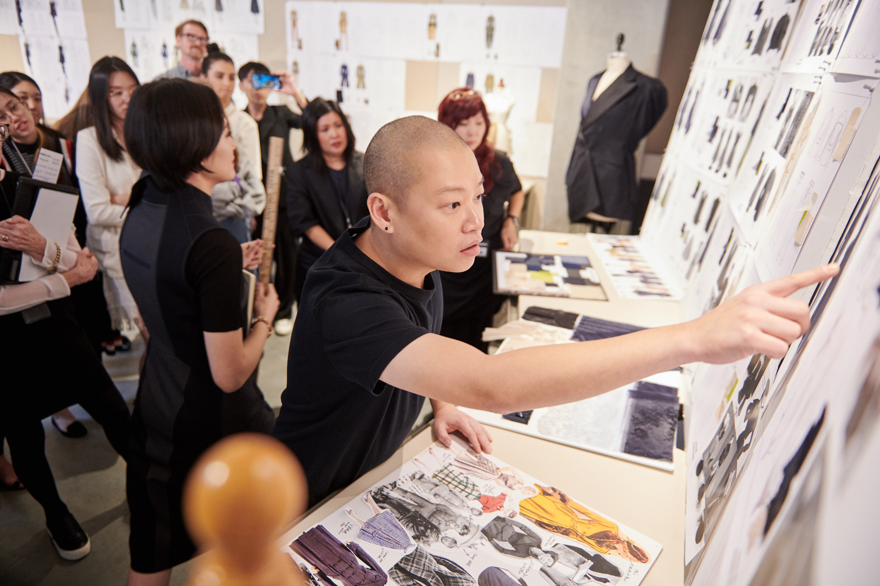 Jason Wu Mentors Students at Otis College