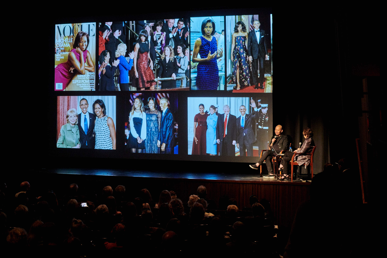 Jason Wu at LACMA with senior curator Sharon Takeda
