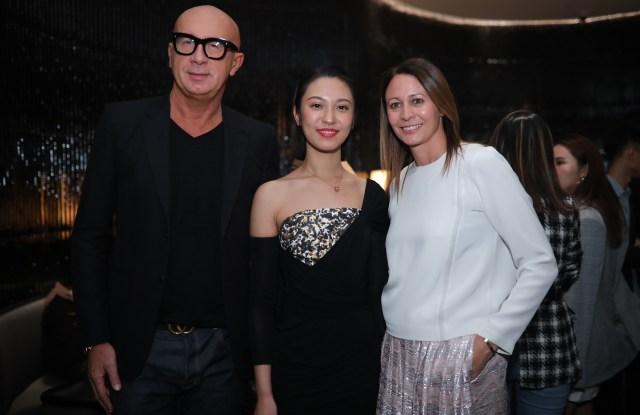 Marco Bizzarri, Anny Fan, and Caroline Rush