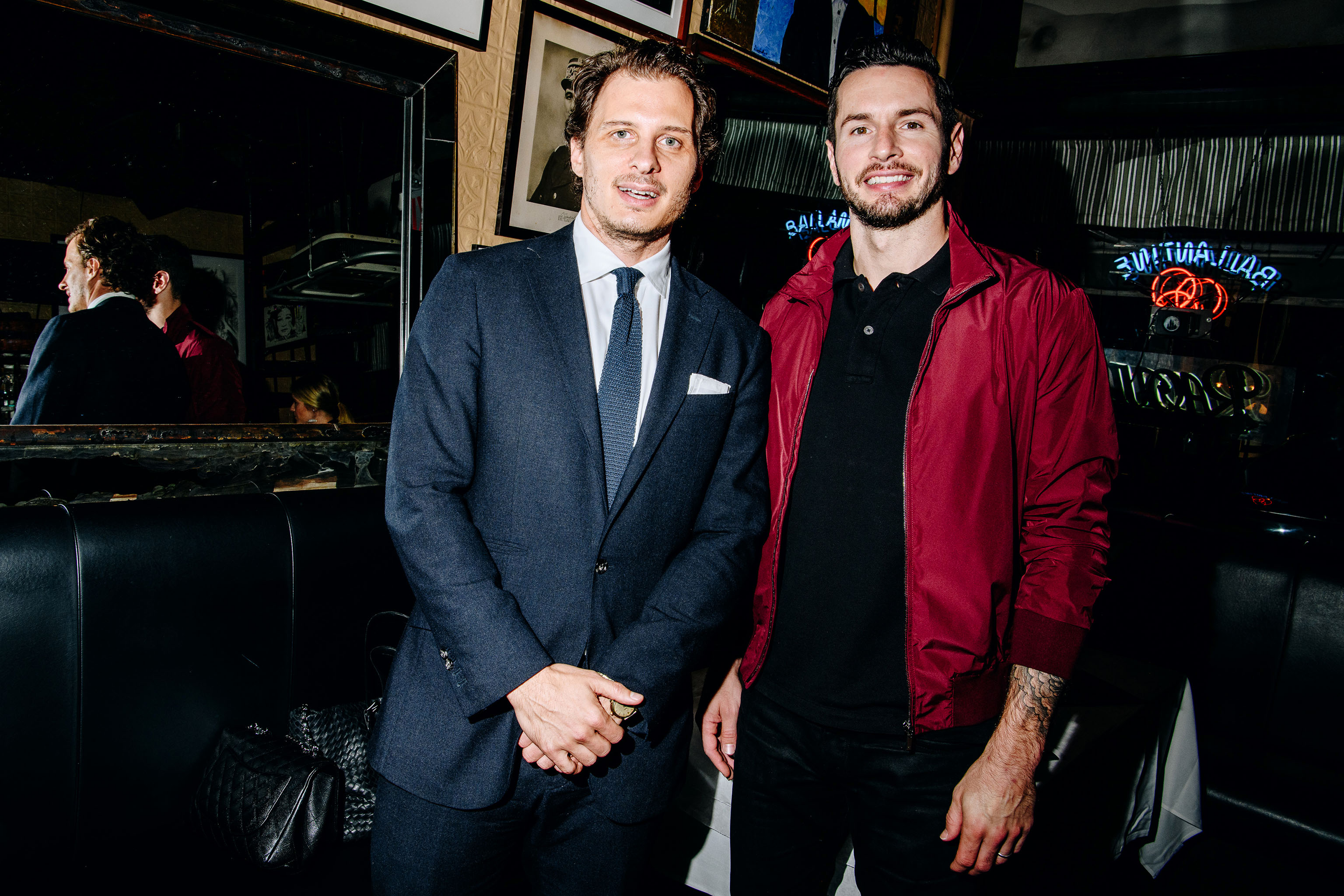 Chris Wallace and JJ Redick