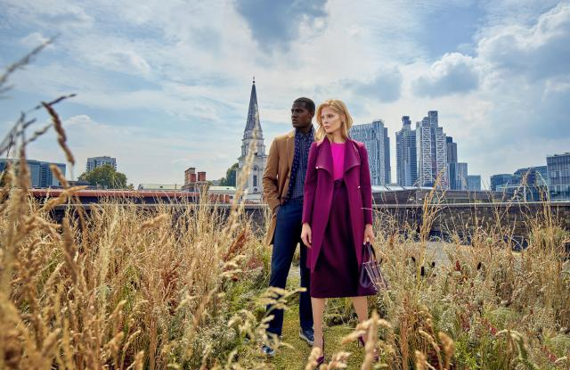 A look from the most recent Ted Baker campaign.