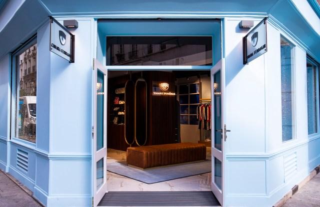 Chiara Ferragni Collection store in Paris.