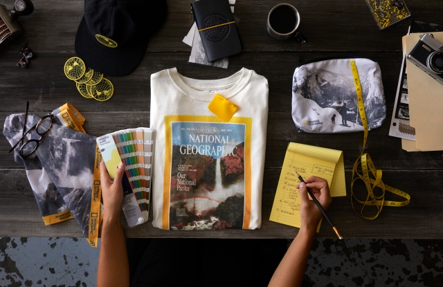 The Parks Project x National Geographic capsule collection.