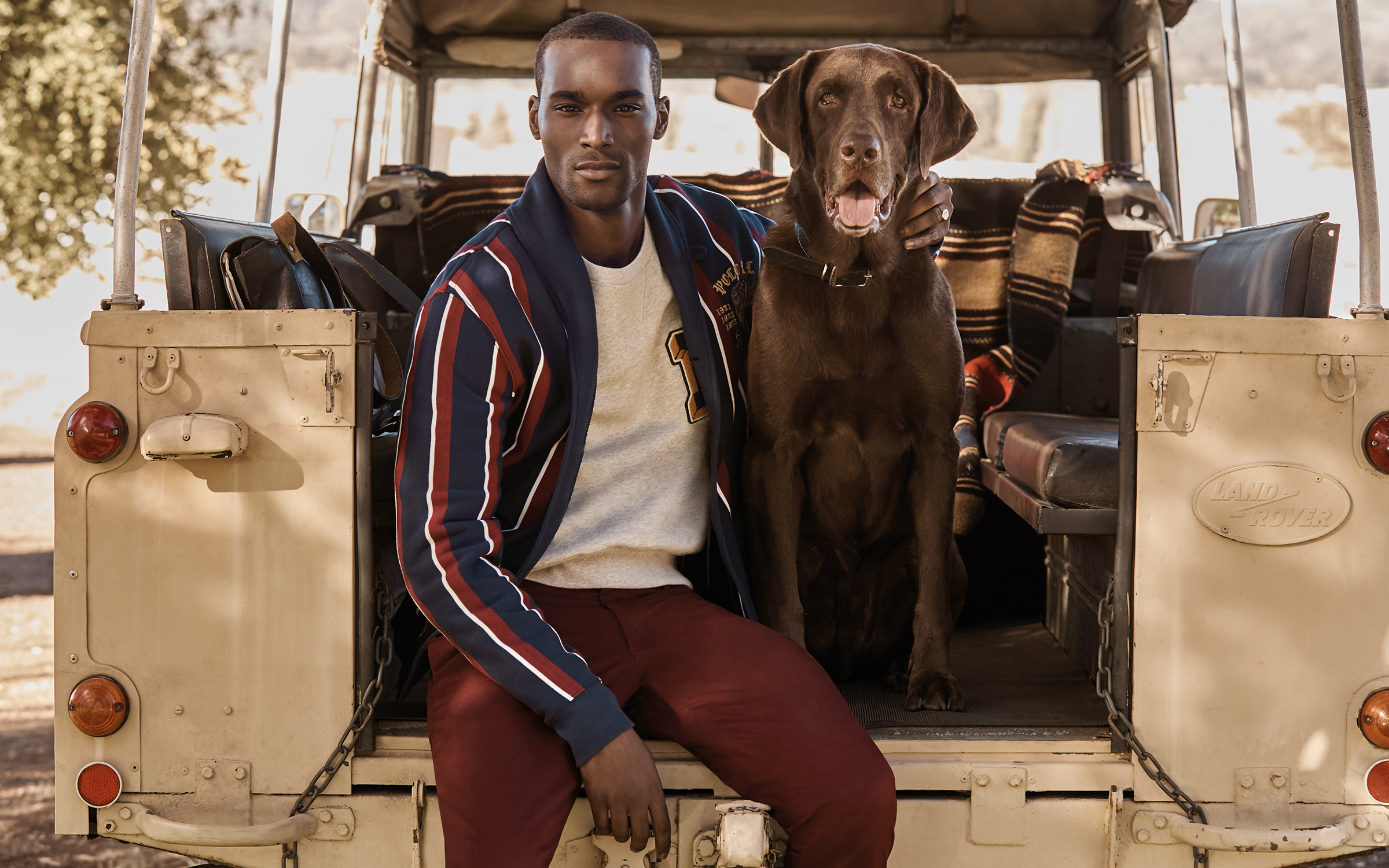 A look from Mr Porter's The World of Ralph Lauren collection
