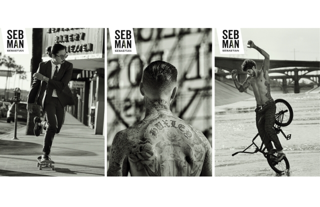 The Seb Man advertising campaign.