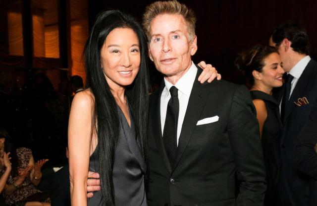Vera Wang, Calvin KleinVera Wang Cfda Geoffrey Beene Lifetime Achievement Award Celebration, New York, USA - 03 Jun 2013