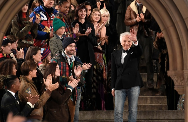 Ralph Lauren on the catwalkRalph Lauren show, Runway, Spring Summer 2019, New York Fashion Week, USA - 07 Sep 2018