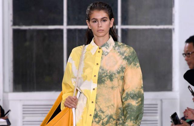 Kaia Gerber on the catwalkProenza Schouler show, Runway, Spring Summer 2019, New York Fashion Week, USA - 10 Sep 2018