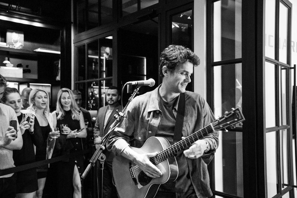 John MayerJohn Mayer in concert at Material Good, New York, USA - 04 Oct 2018