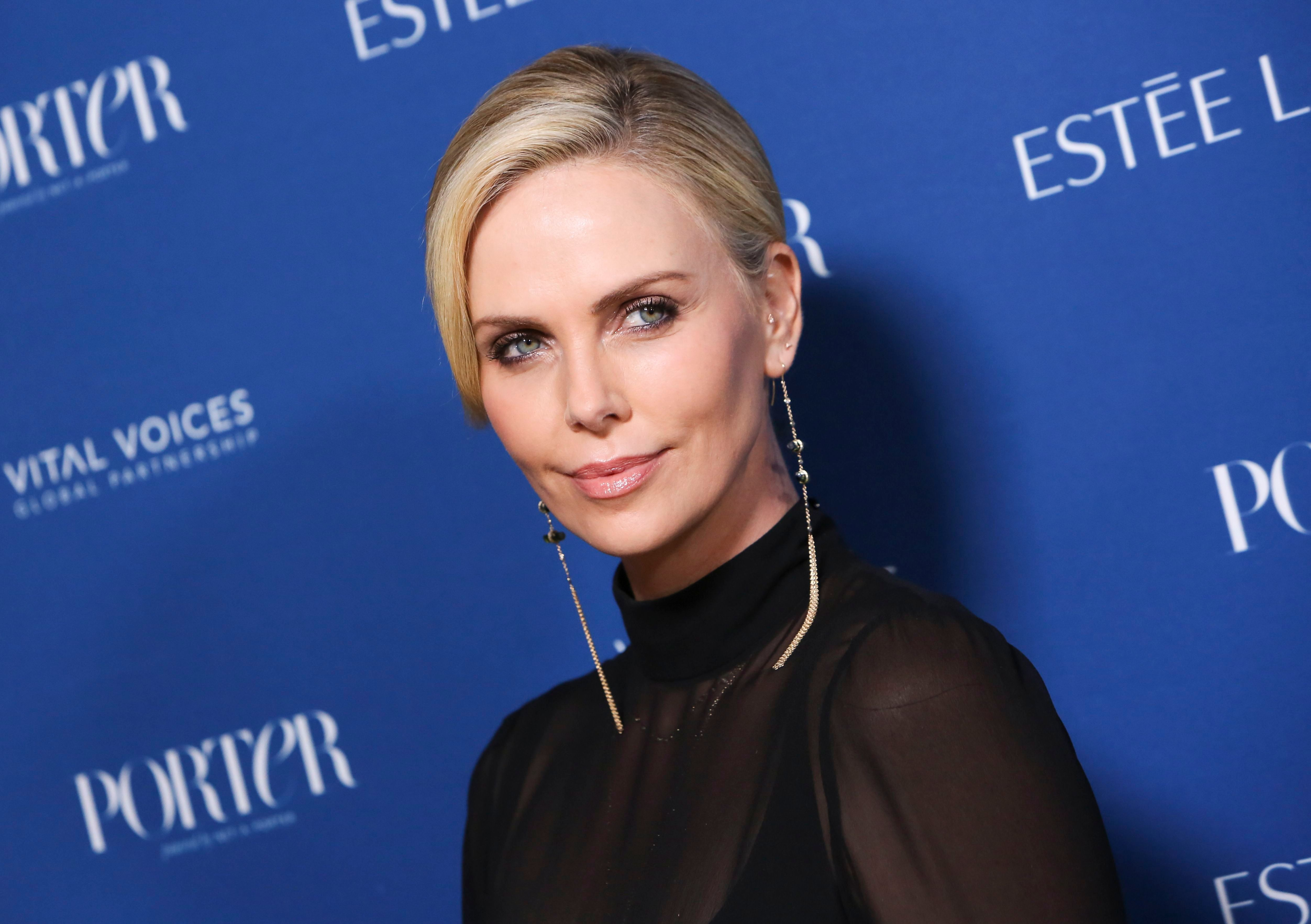 Charlize TheronPorter's 3rd Annual Incredible Women Gala, Arrivals, Los Angeles, USA - 09 Oct 2018