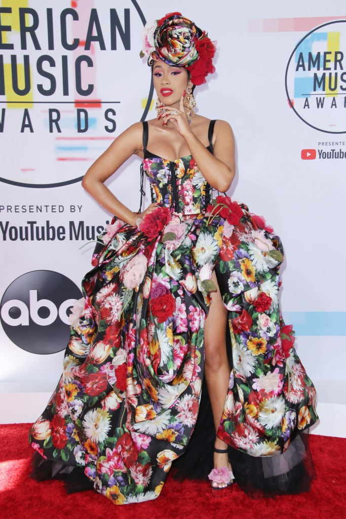 Cardi BAmerican Music Awards, Arrivals, Los Angeles, USA - 09 Oct 2018